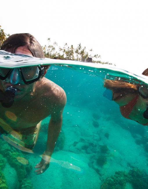 Snorkeling on Kauai