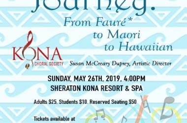 A Musical Journey: From Faure to Maori to Hawaiian