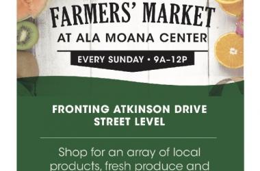 Ala Moana Farmers' Market Flyer