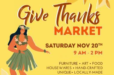 Aloha Home Market - Give Thanks Market
