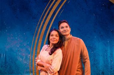 Children Of Eden cast leads, Jade Stice & Michael Bright