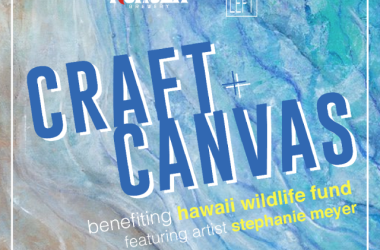 The inaugural Craft+Canvas is Wednesday, September 4th