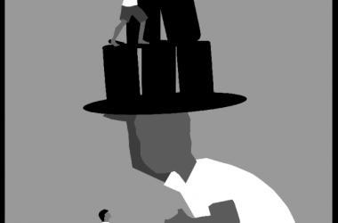 Da Beer Can Hat by Darrell H. Y. Lum