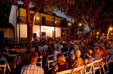 Hawaiian Music Series Concert at Baldwin Home, Lahaina, Maui