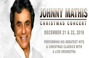Johnny Mathis Christmas Concert