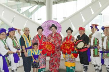 Live entertainment - Eisa, Paranku, Ryukyu Buyo (traditional Okinawan dance), karate, taiko and live music