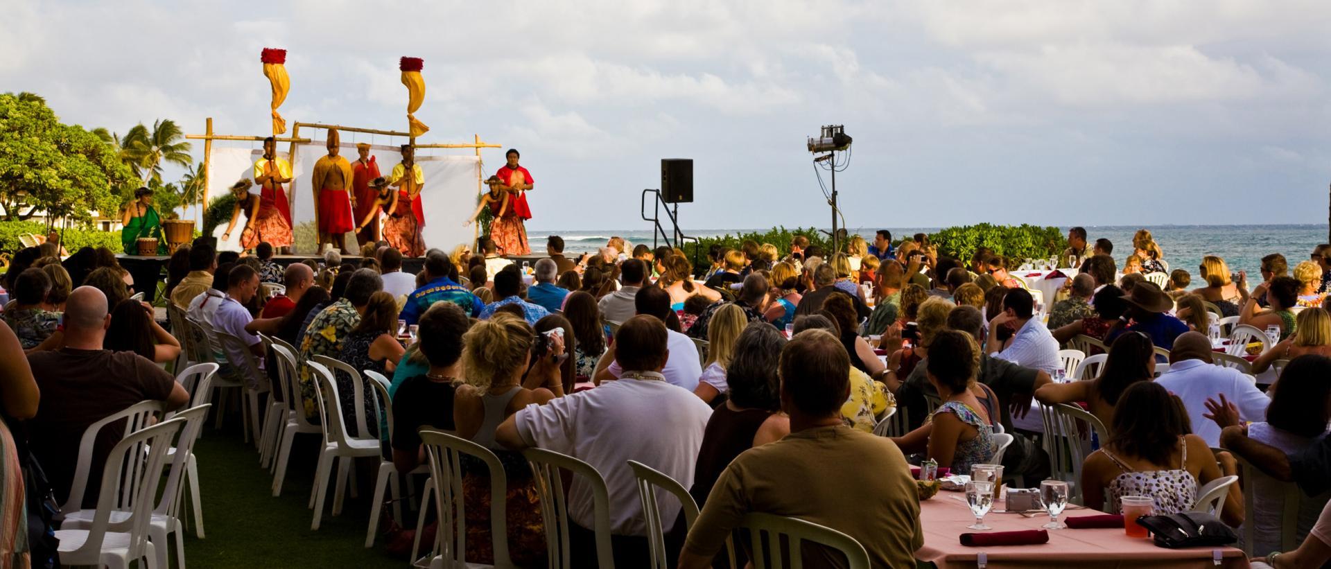 Luau in Hawaii