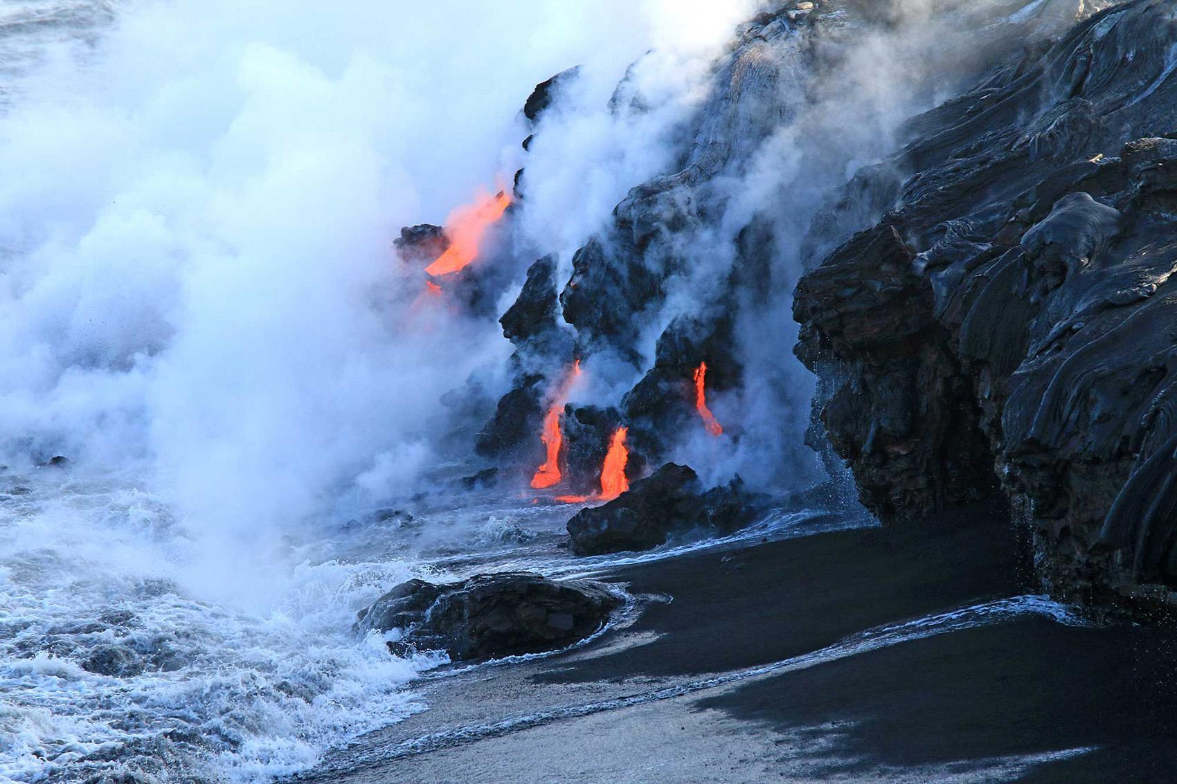 Volcano Eruption Update