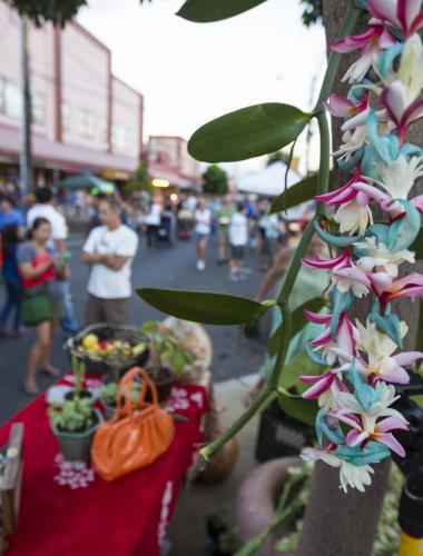 Street market on Maui