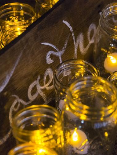 Romantic candlelit ambiance during a Molokai honeymoon