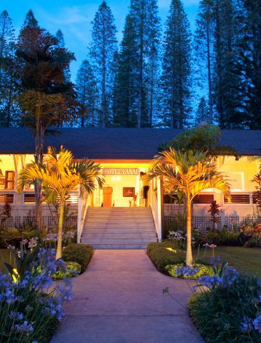 Hotel Lanai is a charming accommodation option on the Hawaiian island of Lanai