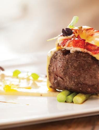 Dinner at One Forty Steak, Four Seasons Lanai
