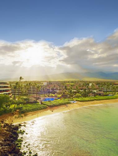 Beachfront accommodations on Maui