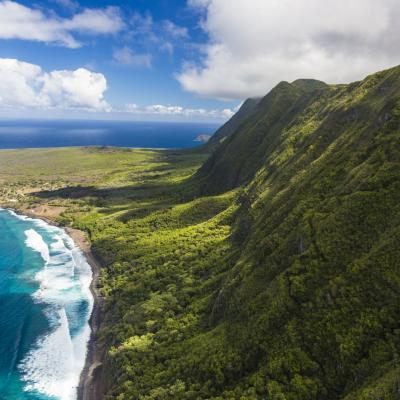 Coastline of Central Molokai