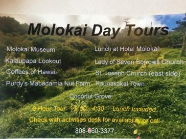 Molokai Day Tour 1