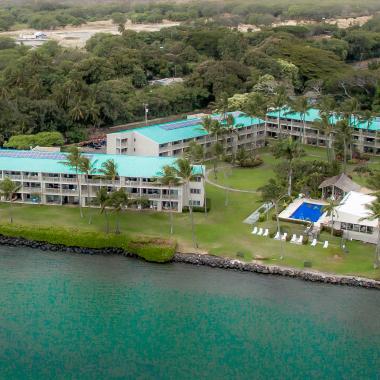 Wavecrest Resort - Wavecrest Resort on Molokai's east end.