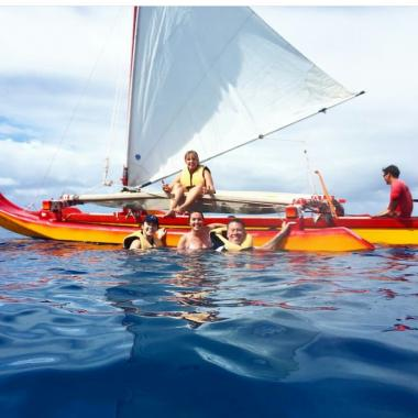 Sharing our culture as it relates to the Hawaiian sailing canoe
