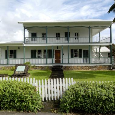 Mission House at the Lyman Museum