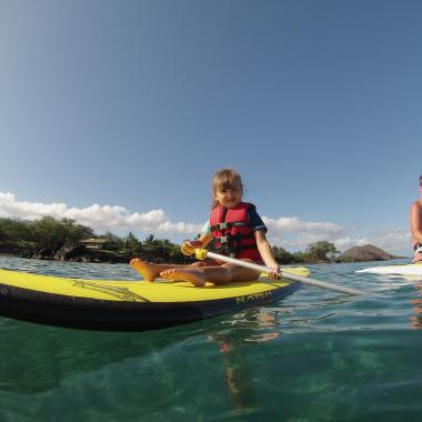 Little Stand Up Paddler