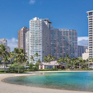 Honolulu, Oahu, HI - Waikiki Marina Resort at the Ilikai, Exterior Bay View