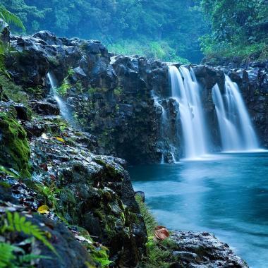 25' Waterfall right in the yard