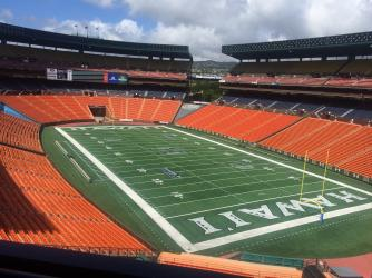 Aloha Stadium Interior View