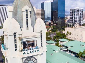 Aloha Tower Observation Deck