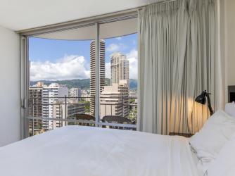 Alohana Rentals Yacht Harbor Hawaii Vacation Rental Luxury Studio Ocean View