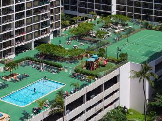 Waikiki's largest recreation deck