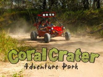 Off-Road Driving - Side-by-side ATVs.