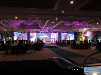 Award Ceremony - Orchid Hotel ballroom event.