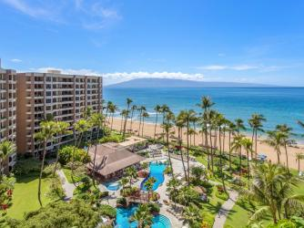 Courtyard View to Kaanapali Beach