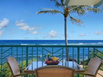 Ocean Front View A406 - Waipouli Beach Resort ocean front condo A406 View!
