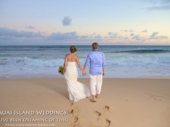 Kauai Beach Wedding.