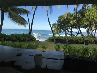 Breakfast on the lanai