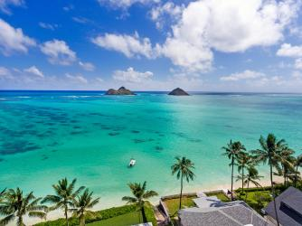 Lanikai Penthouse at beautiful Lanikai Beach!