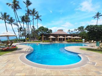 Ekahi Village Beach Pavilion & Main Pool
