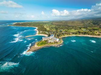 Turtle Bay Resort Aerial